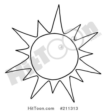 450x470 Summer Sun Clipart