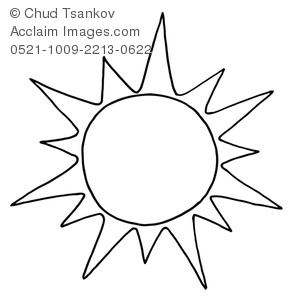 292x300 Black And White Sun Clipart Amp Stock Photography Acclaim Images