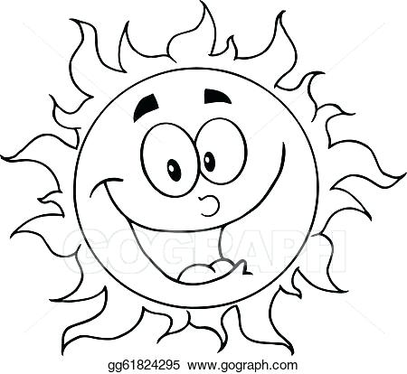 450x414 Sun Clipart Earth Moon And Sun Sun Clipart Black And White