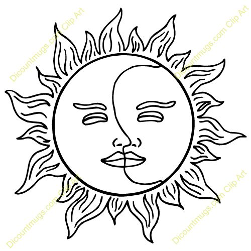 Sun Drawing Clip Art