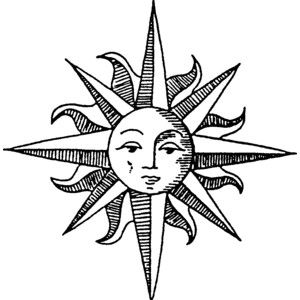 Sun Drawing Image