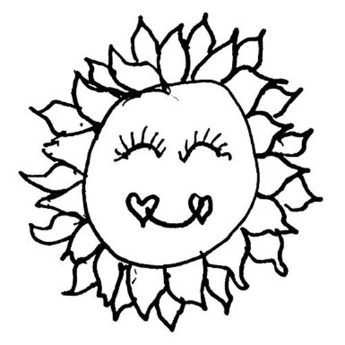 500x500 Mama Peggy's Sun Drawing