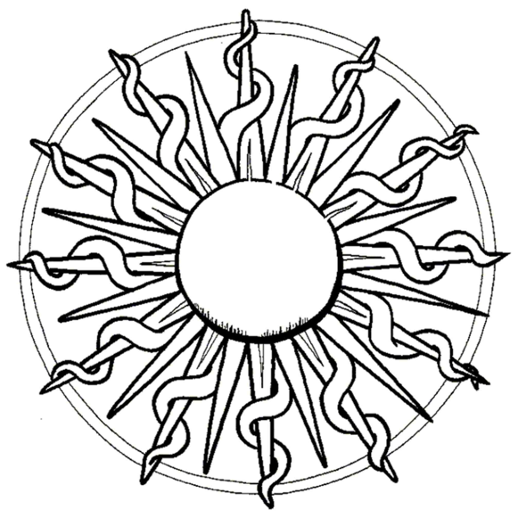 2014x2014 Sun Drawing Tumblr