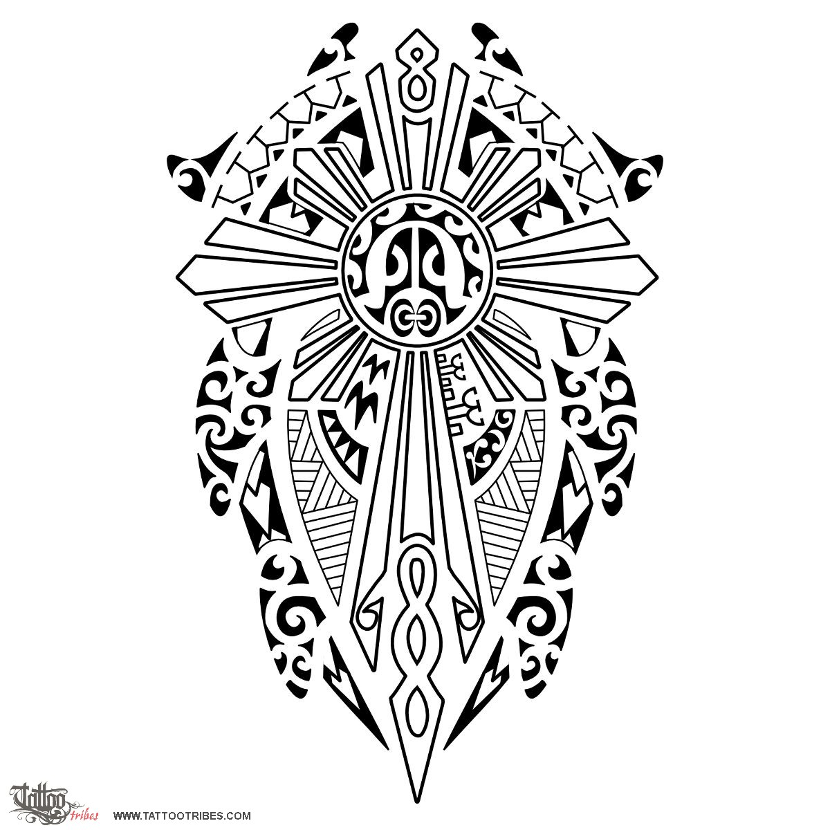Sun Drawing Tattoo At Getdrawings Free For Personal Use Sun