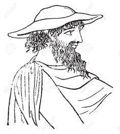 Sun Hat Drawing