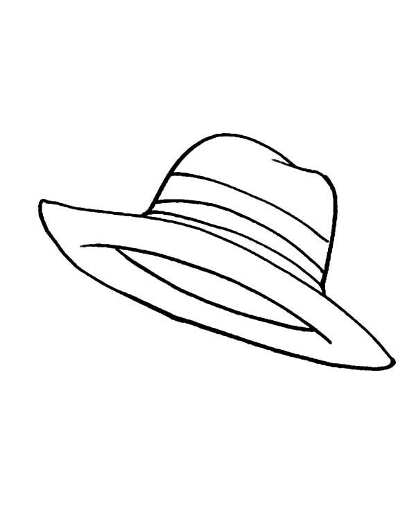 600x733 Sunshine Cover Hat Coloring Pages Sun