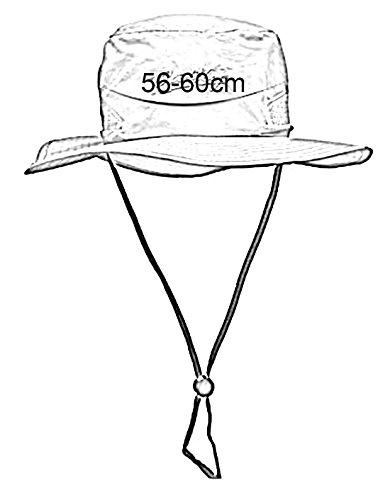 390x500 Aivtalk Outdoor Fishing Cap Upf Mesh Big Brim Bucket Boonie