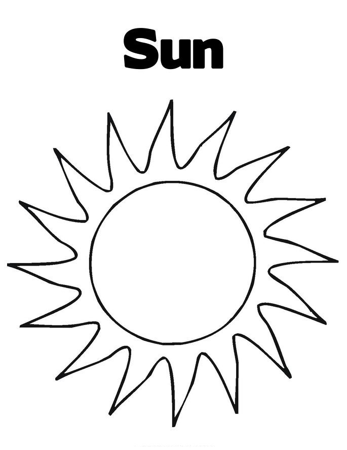 685x886 Free Printable Sun Coloring Pages For Kids