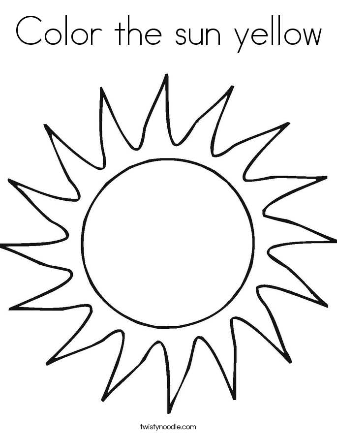 685x886 New Sun Coloring Pages Ideas For Your Kids