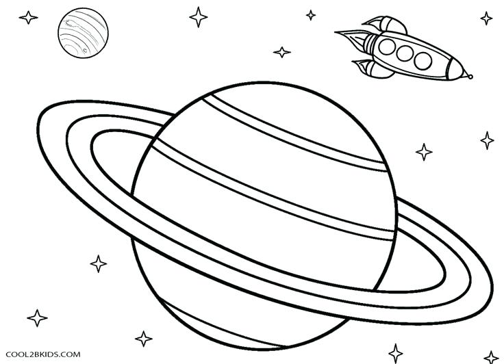 736x532 Planets Coloring Pages Together With Solar System Drawing For Kids