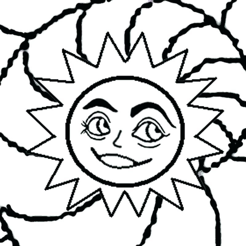 800x800 Sun Picture To Color Sendflare.co