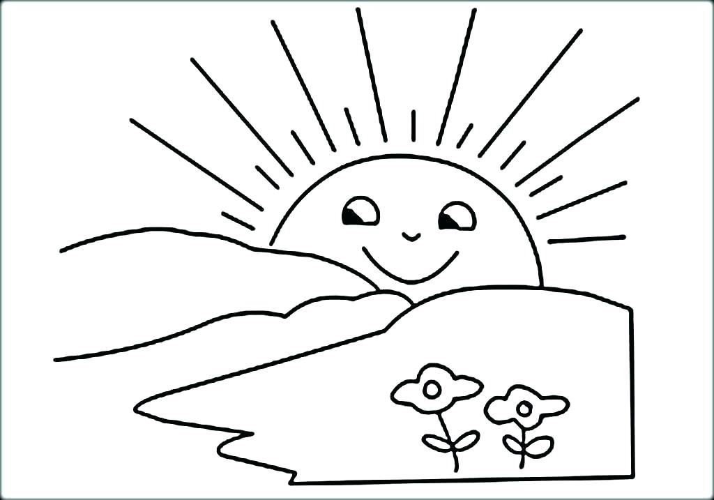 1024x717 Sun And Moon Coloring Pages