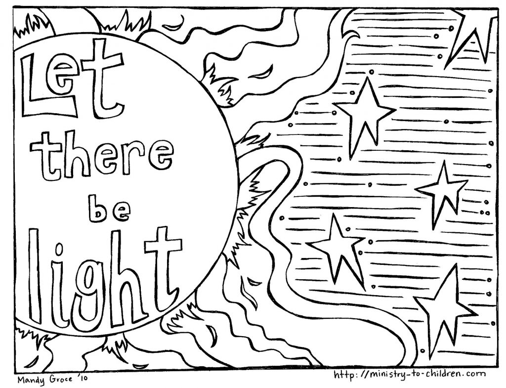 1024x785 Adult ~ Creation Coloring Pages Picture Page Creation God Made