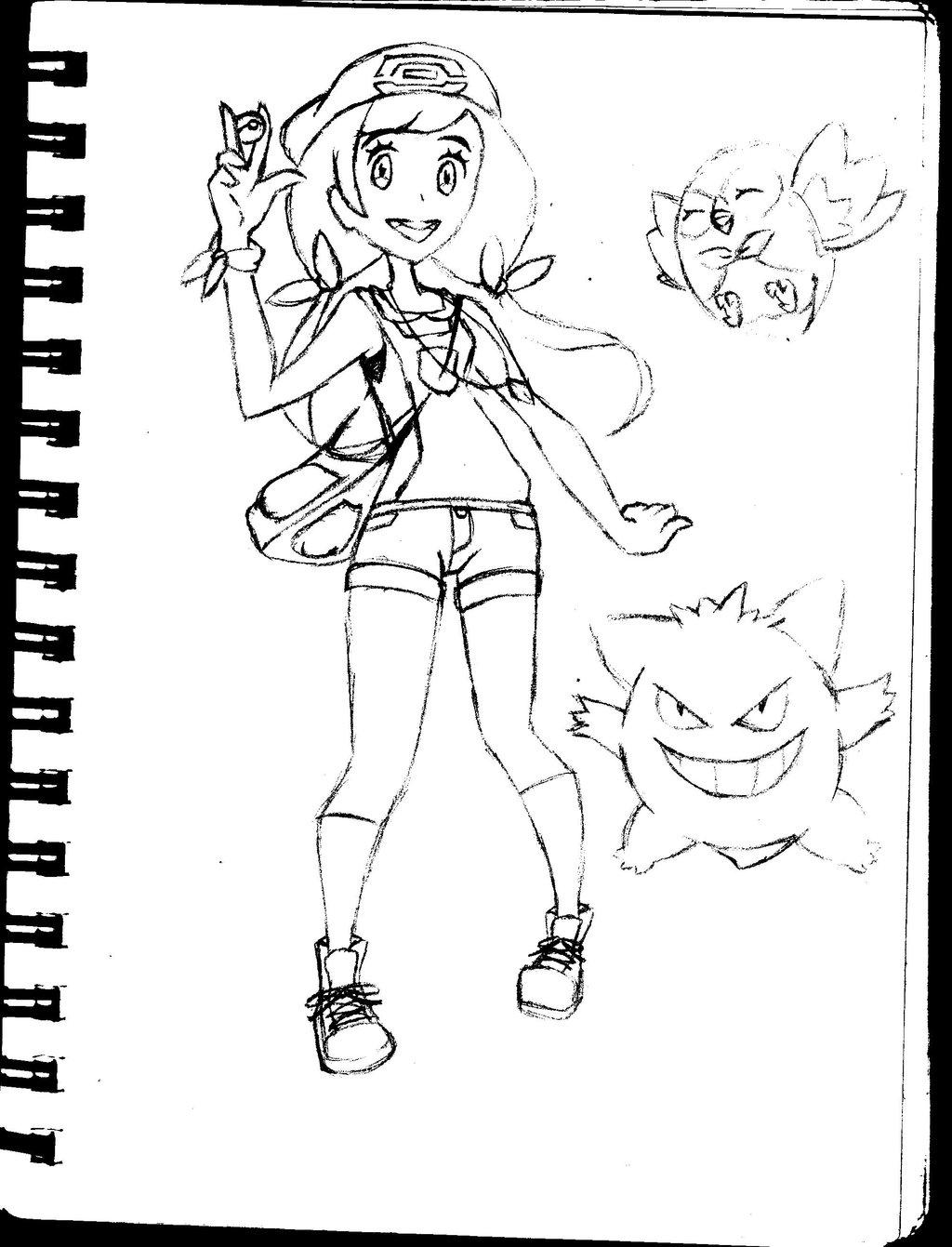 1024x1341 My Pokemon Sunmoon Oc By Afriskybiscuit