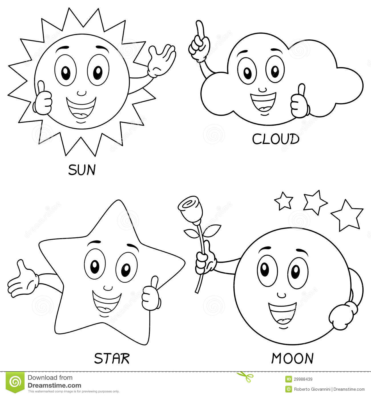 1300x1390 Science Coloring Pages Stars Sun Moon Sun Moon And Stars