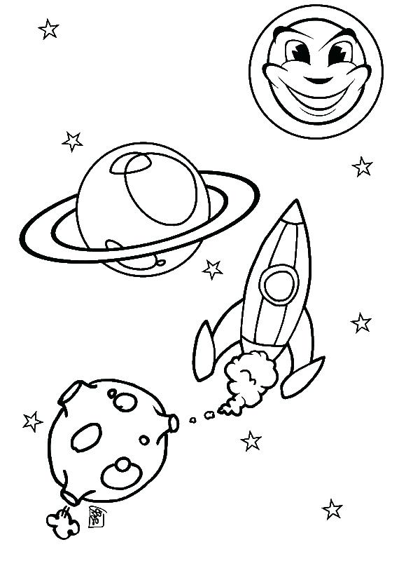 600x800 Sun And Moon Coloring Pages Sun Moon Rocket Ship Coloring Page By