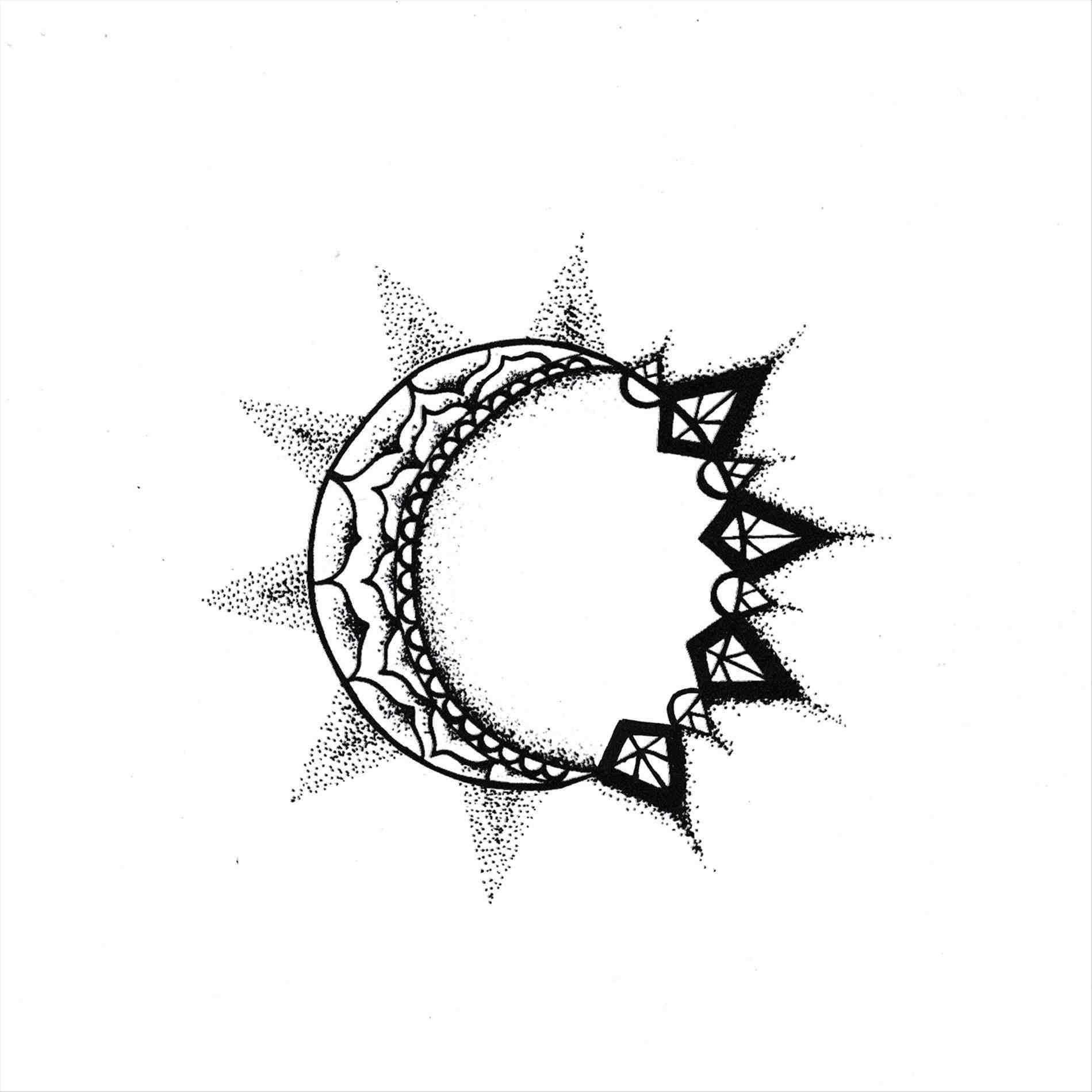 1899x1899 Sun Moon Drawing Tumblr