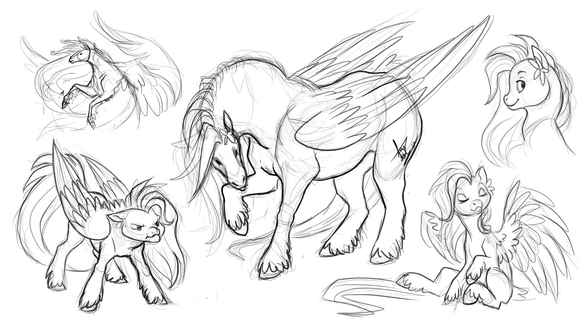 1200x654 At Sunset Star Bonus Sketches By Turtle Arts