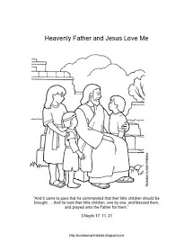 215x280 Sunbeam Printables Coloring Page For Lesson 6 Heavenly Father