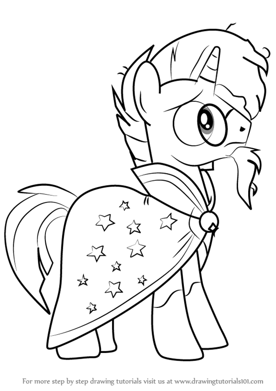 566x800 learn how to draw sunburst from my little pony