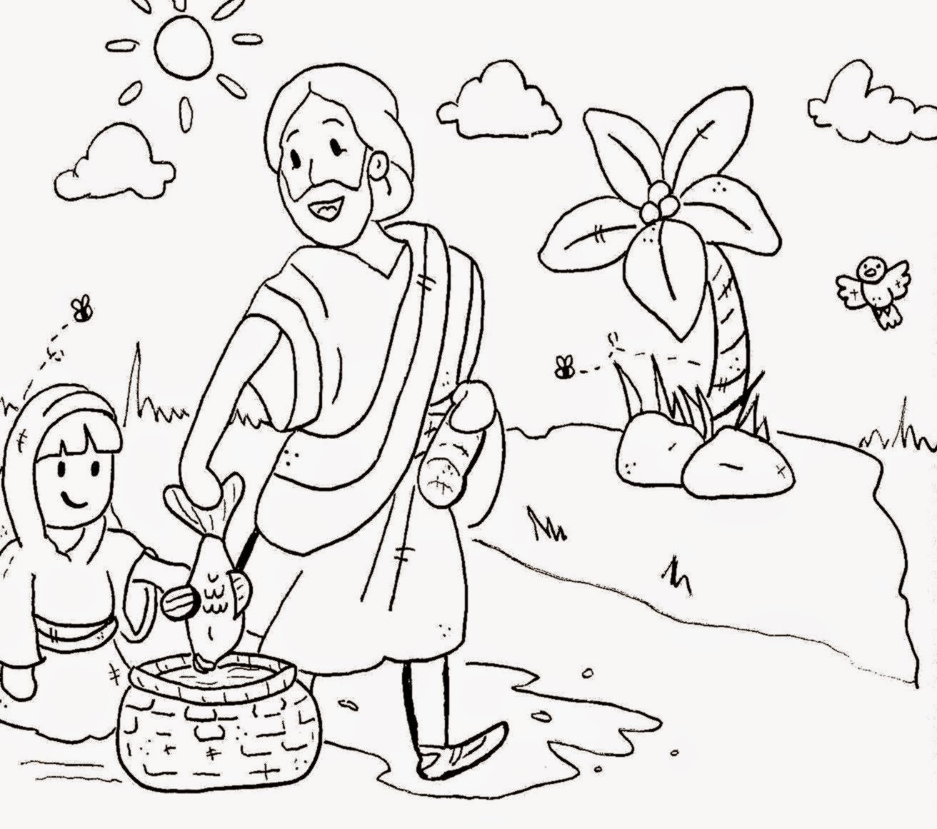 KIDS! Print and color. | Sunday school coloring pages, Sunday ... | 1161x1312