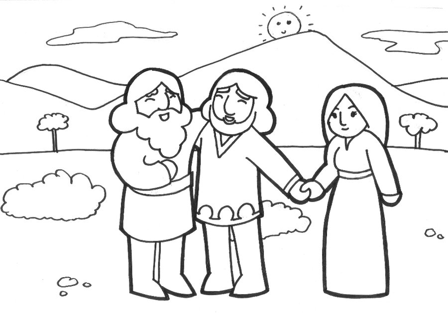 900x629 Sunday School Coloring Page By Likesototally