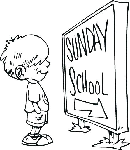446x516 Thanksgiving Sunday School Coloring Pages