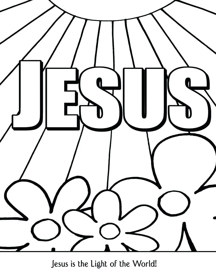 720x931 Coloring Pages Sunday School Preschool Free Coloring Pages