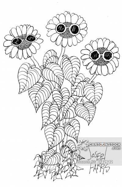 400x613 Sunflower Cartoons And Comics