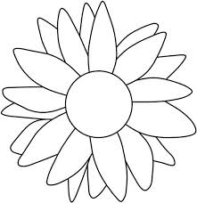 221x228 simple sunflower drawings - Simple Pictures To Trace