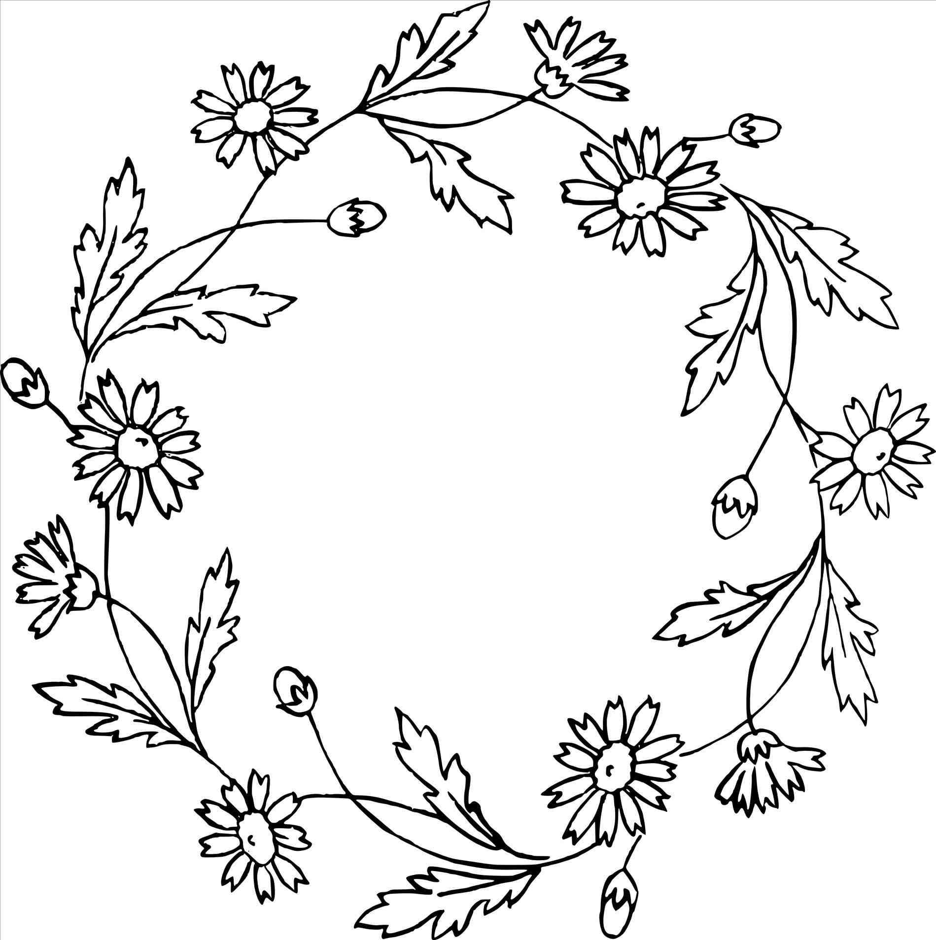 1899x1908 Flowers Drawings Tumblr