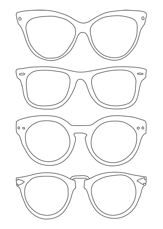 564x789 28 images of free printable sunglasses template