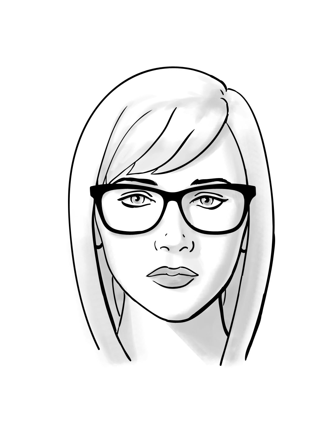 1100x1424 How To Choosing Glasses For Oval Face Shapes