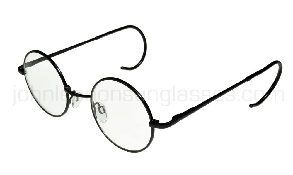 1000x600 John Lennon Glasses Curly Cable Temples Blackclear Ml