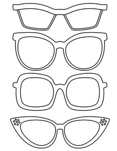 236x305 Sunglasses Coloring Page Worksheets, School And Template