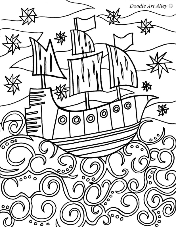 Sunken Pirate Ship Drawing at GetDrawings.com | Free for personal ...