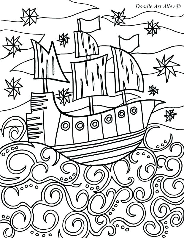 620x800 Coloring Pages Pirate Ship Coloring Trend Medium Size How To Draw