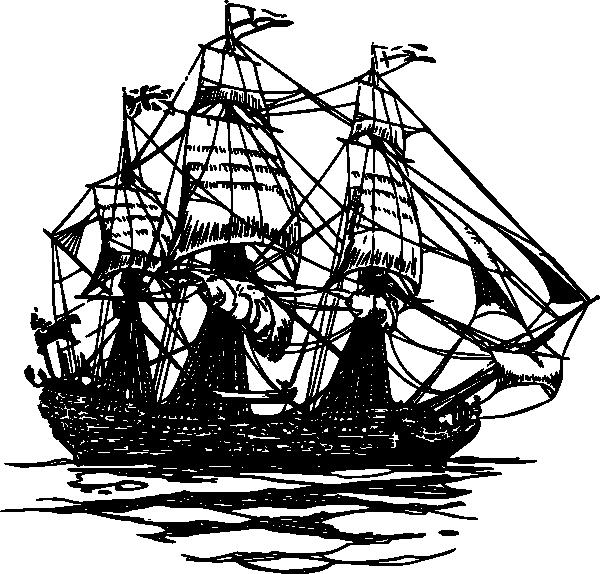600x574 Sunken Ship Clip Art