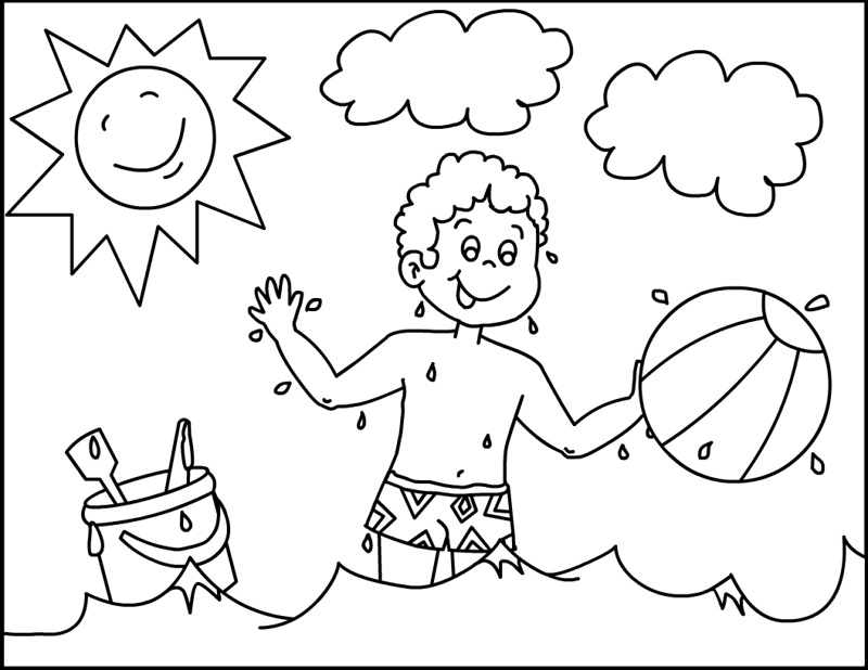 Sunny Day Drawing at GetDrawings | Free download