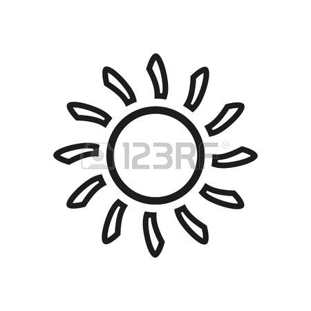 450x450 The Sunshine Icon. Sunrise And Sunshine, Weather, Sun Symbol