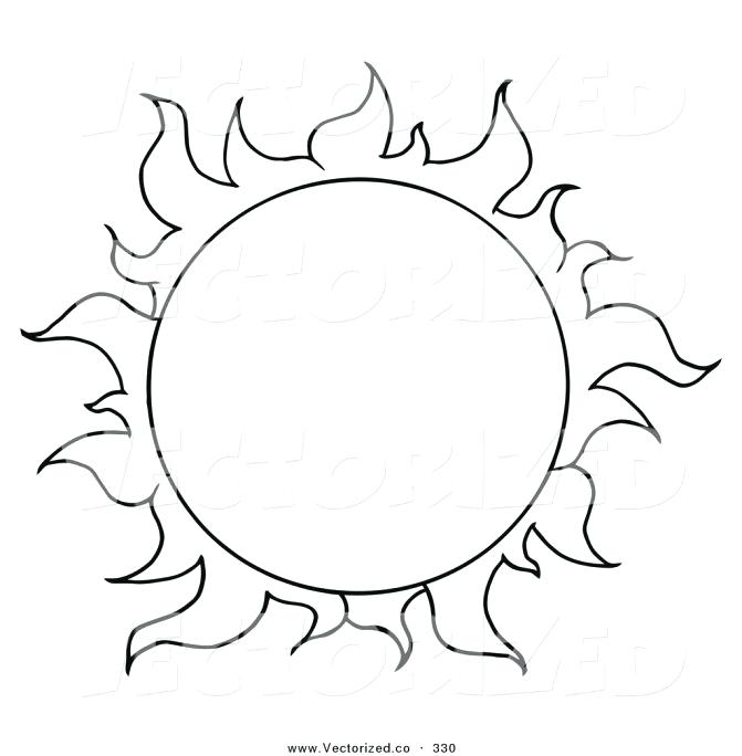 671x684 Free Printable Sunrise Coloring Pages Rising Sun Page Kids Drawing
