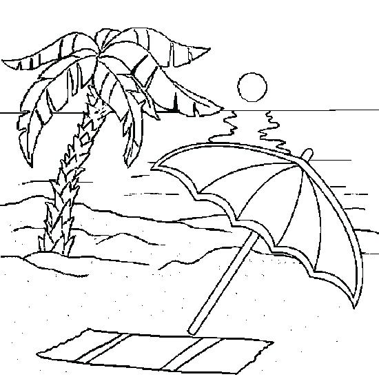 550x550 Coloring Page Beach Sunset Coloring Pages Beach Coloring Pages