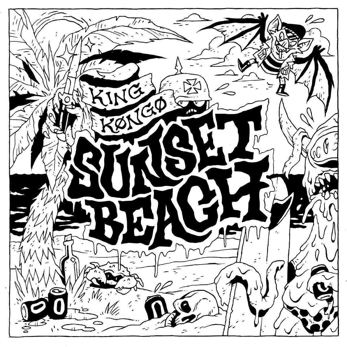 1200x1200 Sunset Beach King Kongo