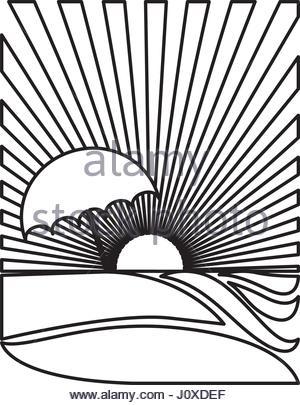 300x405 Silhouette Rectangular Background Sunset Beach And Palms