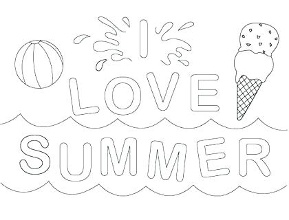 420x320 Beach Color Pages Beach Coloring Pages Full Size Of Coloring