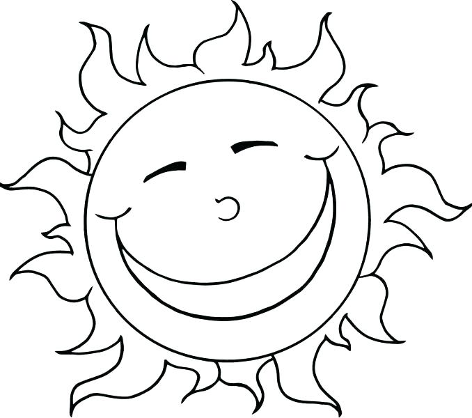 678x600 Best Sunset Coloring Pages Fee