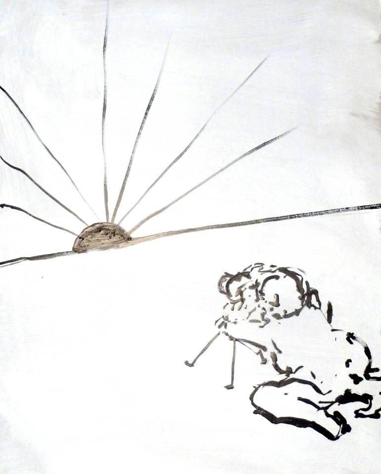 770x958 Saatchi Art Sunset Is Fascism. Drawing By H Schlagen