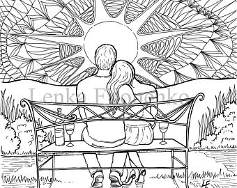 Sunset Drawing Black And White at GetDrawings.com | Free for ...