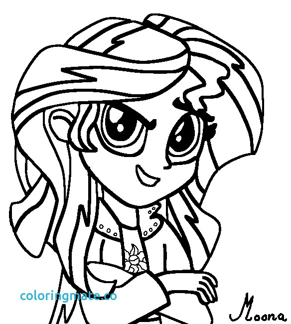 584x650 40 Sunset Coloring Pages