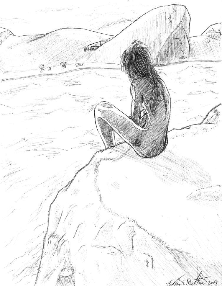 753x969 Sunset Cliff Diving By Miyuko142